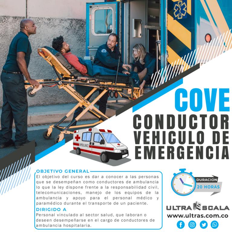 Conductor Vehículo de Emergencias
