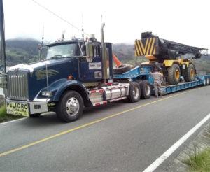 Empresas de transporte de carga pesada